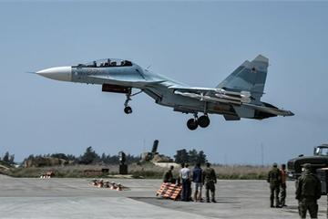 Phòng không Nga - Syria tất bật bắn hạ UAV, tên lửa lại gần căn cứ Hmeymim trong đêm