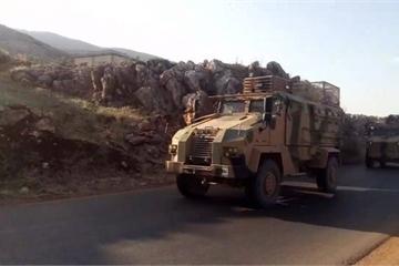 Hiếm hoi cảnh máy bay hộ tống quân đội Nga – Thổ Nhĩ Kỳ tuần tra ở Syria
