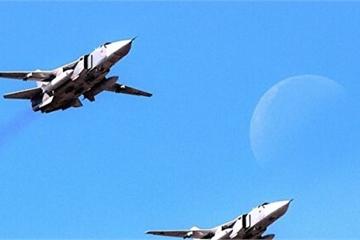 """Thêm 2 oanh tạc cơ Su-24 Nga âm thầm tới Syria, """"điềm báo"""" nguy hiểm cho Thổ Nhĩ Kỳ"""