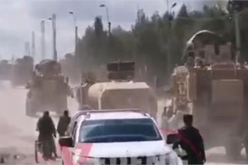Pha rượt đuổi gay cấn như phim hành động giữa quân đội Nga – Mỹ ở Syria