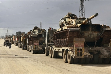"""Quân đội Thổ Nhĩ Kỳ có hành động """"bất ngờ"""" ở Syria"""