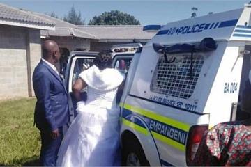 Tổ chức đám cưới khi có lệnh cách ly, cô dâu chú rể và 40 khách bị cảnh sát bắt giữ