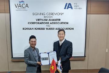 Hiệp hội doanh nghiệp nước ion kiềm Việt Nam đẩy mạnh hợp tác quốc tế