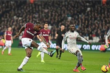 Bị West Ham cầm hòa, báo động đỏ cho Liverpool