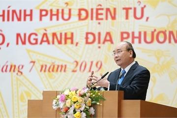Thủ tướng đánh giá cao vai trò của VPCP và Bộ TT&TT trong xây dựng Chính phủ điện tử