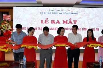Thành lập Không gian hỗ trợ khởi nghiệp đổi mới sáng tạo tại Nghệ An  