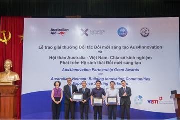 Ba đội thắng cuộc giải thưởng Đối tác Đổi mới sáng tạo nhận 1,6 triệu đô la Úc
