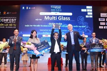 MultiGlass – Startup vừa giành ngôi quán quân tại Techfest 2019 có gì đặc biệt?