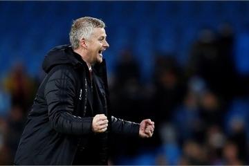 Thắng thuyết phục Manchester City, ghế của HLV Solskjaer bất ngờ... vững vàng trở lại