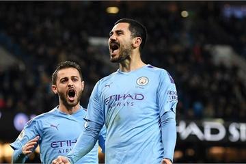 Kun Aguero bị ngó lơ, Man City vẫn thắng dễ Leicester City