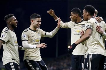 Vòng 20 Ngoại hạng Anh: Thắng trận thứ hai liên tiếp, M.U áp sát top 4