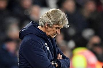 Manuel Pellegrini, cựu HLV của Manchester City bị West Ham sa thải