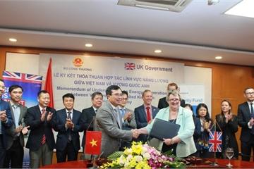 Ký MOU hợp tác trong lĩnh vực năng lượng giữa Vương quốc Anh và Bộ Công thương