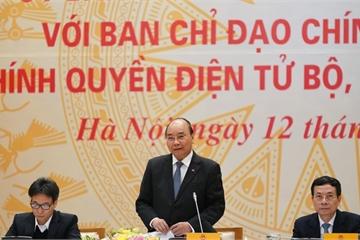Thủ tướng chủ trì Hội nghị trực tuyến toàn quốc về Chính phủ điện tử