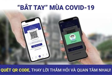 Ứng dụng NCOVI thêm tính năng khai báo tiếp xúc, tìm người đến BV Bạch Mai
