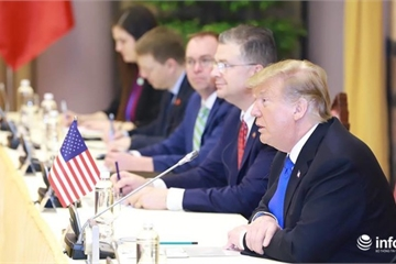 Tổng thống Donald Trump: Việt - Mỹ sẽ ký kết một số hợp đồng thương mại lớn