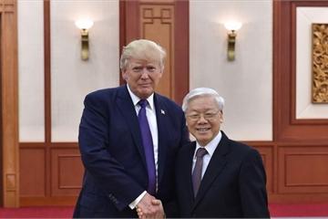 Tổng thống Donald Trump sẽ ăn trưa cùng các lãnh đạo Việt Nam