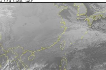 Tin bão mới nhất hôm nay 3/1: Bão số 1 giật cấp 11, áp sát gần đất liền