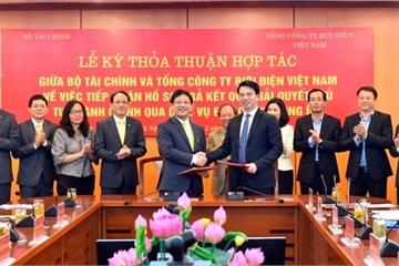 Bộ Tài chính và Bưu điện Việt Nam hợp tác giải quyết TTHC qua bưu chính công ích