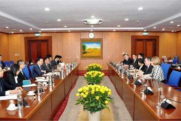 Thúc đẩy hợp tác tài chính giữa Việt Nam và New ZeaLand