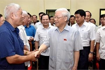 Thứ 7, ĐBQH tiếp xúc cử tri Quận Ba Đình, Hoàn Kiếm, Tây Hồ