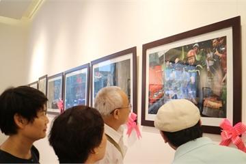 """Khai mạc Triển lãm ảnh """"Vì cuộc sống bình yên"""" tại Hà Nội"""