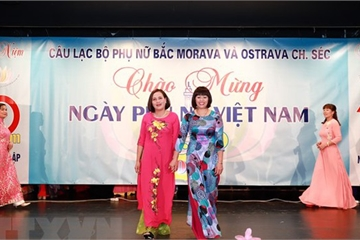Nhiều hoạt động ý nghĩa nhân ngày Phụ nữ Việt Nam tại Séc