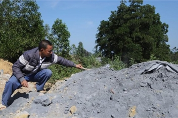 Đã tìm ra thủ phạm đổ chất thải nguy hại ở Sóc Sơn