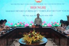 """Hà Nội tích cực vận động người dân ủng hộ Quỹ """"Vì biển, đảo Việt Nam"""""""