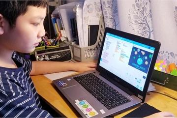 """Học sinh lớp 5 ở Hà Nội tự thiết kế trò chơi """"Đánh bay Covid"""" với thông điệp ý nghĩa"""