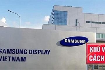 Toàn bộ F1 tiếp xúc với công nhân Samsung mắc Covid-19 đã âm tính