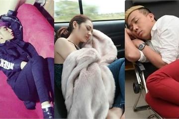 'Ngã ngửa' với tư thế ngủ của sao Việt, 'bá đạo' nhất là ai?