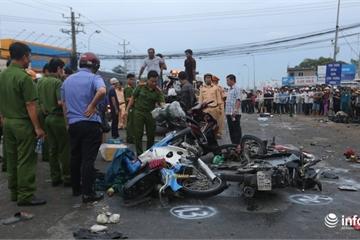 """Vụ tai nạn thảm khốc ở Long An: Người dân kể về ngã tư """"tử thần"""""""
