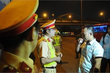 TP.HCM: 5 ngày ra quân, chưa phát hiện tài xế sử dụng ma túy