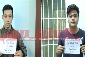 Bình Dương: 2 kẻ kề dao vào cổ, cướp xe taxi đã ra đầu thú