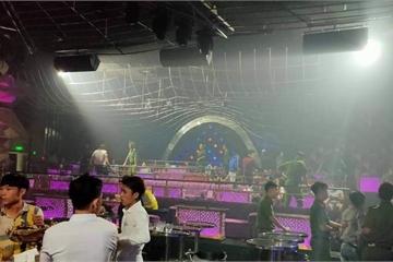 Nhiều dân chơi phê ma túy trong quán bar Romance ở Đồng Nai