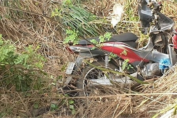Đồng Nai: Người đàn ông tử vong bên cạnh chiếc xe máy bể nát