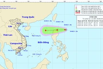 Xuất hiện áp thấp mới trên biển Đông, có khả năng mạnh lên thành bão