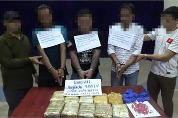 Triệt phá đường dây vận chuyển 62.000 viên ma túy từ Lào về Việt Nam