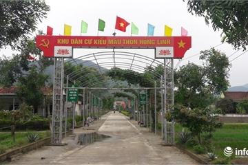 Hà Tĩnh: Nhìn lại chặng đường 10 năm xây dựng nông thôn mới ở Can Lộc