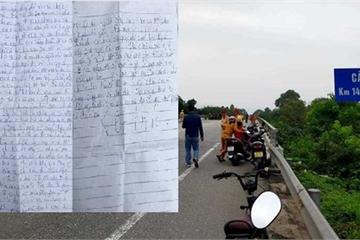 Hà Tĩnh: Nghẹn lòng với tâm thư của nữ sinh để xe lại trên cầu rồi mất tích
