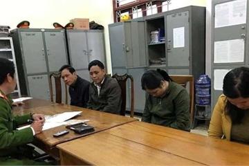 Hà Tĩnh: Đang say sưa trên chiếu bạc, chủ nhà và 3 'vị khách' bị bắt quả tang