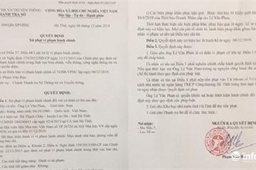 Hà Tĩnh: Xử phạt kẻ giả danh phóng viên 10 triệu đồng