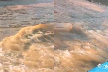 Hà Tĩnh: Thực hư nguồn gốc vệt nước màu đỏ tại cảng Sơn Dương - Vũng Áng