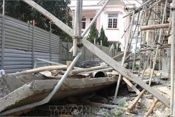 Hà Tĩnh: Sập mái công trình trụ sở xã, 1 người tử vong, đơn vị thi công nói gì?