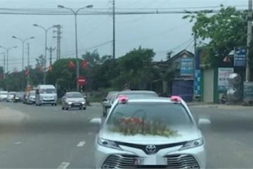 Hà Tĩnh: Đình chỉ 5 ngày đối với Phó GĐ bệnh viện tổ chức cưới con trai giữa mùa dịch