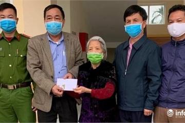 Cụ bà 89 tuổi dành 1 tháng trợ cấp thân nhân liệt sỹ ủng hộ phòng chống dịch Covid-19