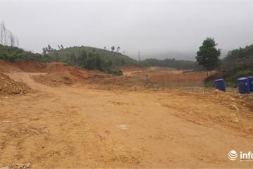Hà Tĩnh: Chưa được cấp phép, chủ trại ngang nhiên bạt đồi thi công dự án (Bài 1)