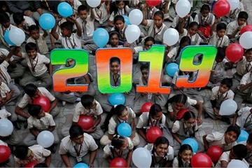 """Năm mới 2019 """"gõ cửa"""" thế giới với những hình ảnh siêu ấn tượng"""