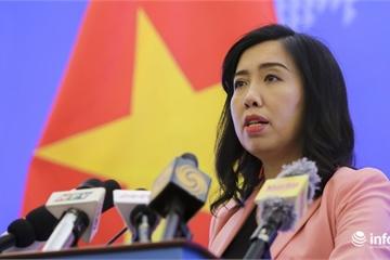 Việt Nam đề nghị Indonesia đền bù cho tàu cá, thả ngay các ngư dân bị bắt giữ